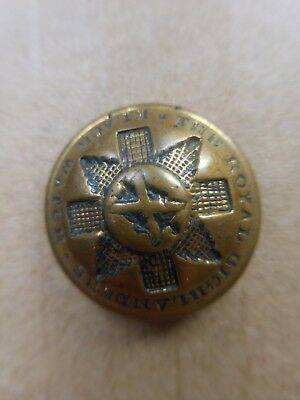British Military Uniform Button Royal Highlanders Black Watch Wm Anderson & Sons