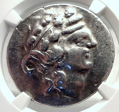 Celtic Celts Danube Silver Tetradrachm Greek Style Coin like THASOS NGC i72617