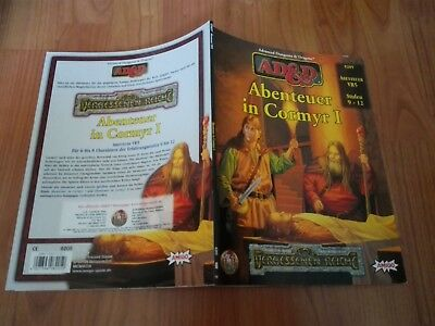 Ad&d Vr5  Abenteuer In Cormyr I Ad&d Advanced Dungeons&dragons Sehr Gut