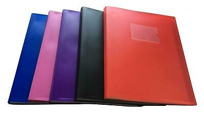 A4 Flexible Cover Display Books - Presentation Folder by Janrax