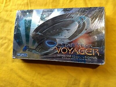 Star Trek Voyager Series 1 Collector Cards Skybox Factory Sealed 1995+Sale++++