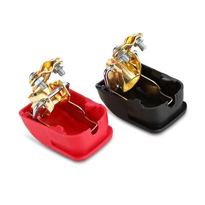 Pair of Quick Release Battery Terminals Clamps for Car / Motorbike / Truck-GET