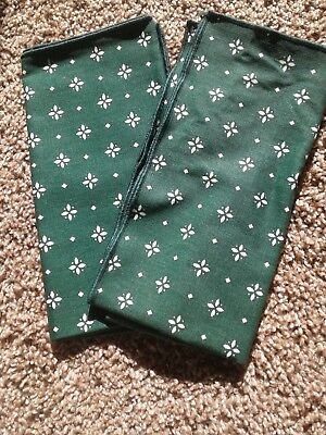 Longaberger Heritage Green Fabric Napkins set of 2
