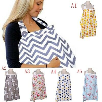 Baby Breastfeeding Nursing Cover Maternity Generous Blanket Breathable Cotton