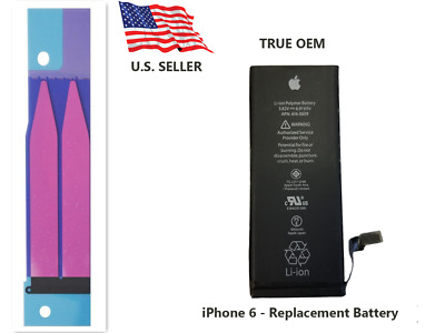 OEM Original Genuine 1810mAh Battery Replacement for iPhone 6 4.7 WITH ADHESIVE
