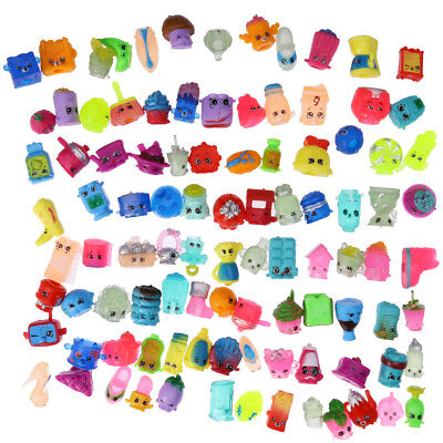 100PCS Rondom Lot of Shopkins of Season 1 2 3 4 5 6 Toys Kids Gift Figures NEW