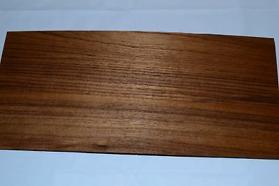 Teak Raw Wood Veneer Sheets  7 x 16 inches 1/42nd thick                9312-50