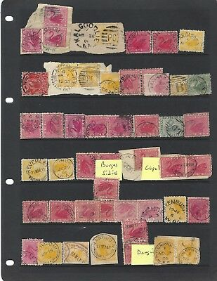 W.a.small Town  Postmark Lot On Swans