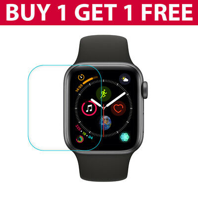 REAL TEMPERED GLASS FILM SCREEN PROTECTOR FOR APPLE iWATCH WATCH Series 4/3/2 UK