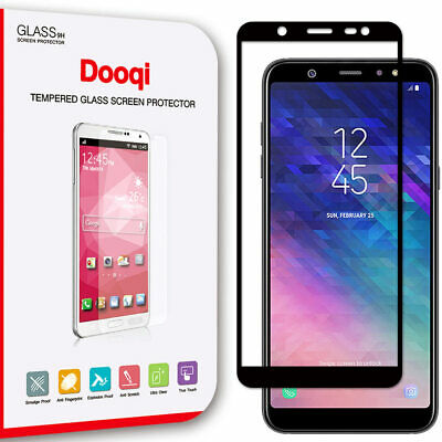 For Samsung Galaxy A6 2018 / A6+ 2018 Full Cover Tempered Glass Screen Protector