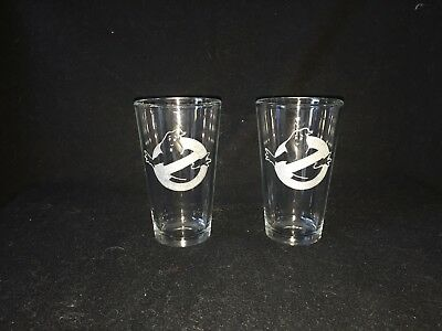 Ghostbusters Hand Etched Pint Glasses!