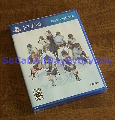 Root √ Letter ~US Version~ (PlayStation 4, Visual Novel) BRAND NEW & SEALED! ps4