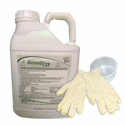 Rosate 360 TF Strong heavy duty Glyphosate Professional Weedkiller 1 x 5L