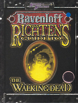 d20 System - Sword & Sorcery. Ravenloft - van Richtens Guides to the Walkingdead