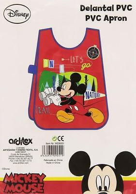 Delantal Pvc De Mickey Mouse (17740)