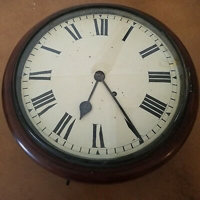 Seth Thomas Regulator Wall Clock - Parts or Repair Only Unknown History
