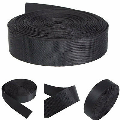 5/10 Yards Length 25/38/50mm Wide Strap Heavy Nylon Webbing Strapping Thick