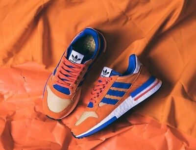 sale retailer 18053 349bb ADIDAS X DRAGONBALL Z ZX 500 RM  SON GOKU  dragon ball EU 44 -