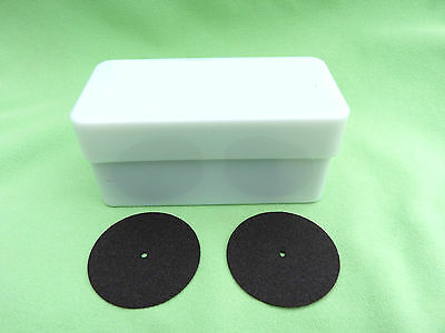 100 Discs for Model Casting Black 38 x 0,6 mm Cutting Disc Dental