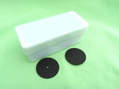 100 Discs for Model Casting Black 25 x 0,6 mm Cutting Disc Dental