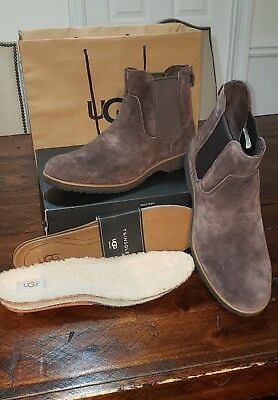 700c80acf60 Boots chealse Double Brown Insoles Men's Ugg Dark Baldvin Suede EqwPxH6