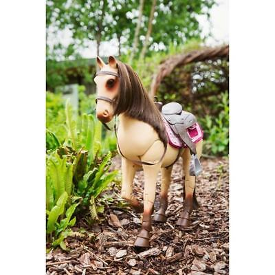 Our Generation Morgan Horse With Poseable Legs Saddle 50Cm Ages 3+