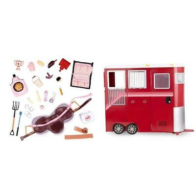 Our Generation Mane Attraction Horse Trailer Set & Accessories Saddle Blanket