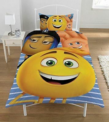 The Emoji Movie Single Kids Quilt Cover Reversible Childrens Bedding
