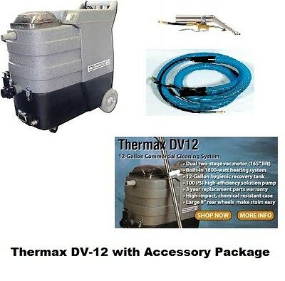 Thermax DV-12 w/ Accessory Package & FREE SHIPPING - Carpet Cleaning/Auto Detail