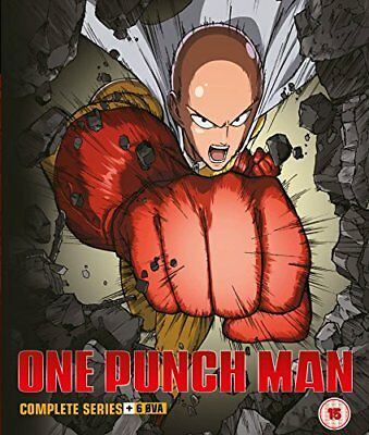 One Punch Man - Complete Series + 6 OVA (Blu-ray) **NEW**