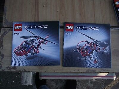 Lego Technic 8068 2 1 Rescue Medical Helicopter Brand New Retired