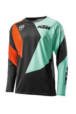 New Ktm By Troy Lee Designs Se Slash Shirt Jersey Size Large 2019 3Pw1923404