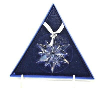 Swarovski Crystal 2017 Annual Christmas Star Ornament New