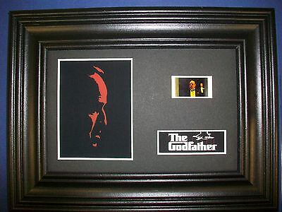 GODFATHER Framed Movie Film Cell Memorabilia Compliments poster dvd