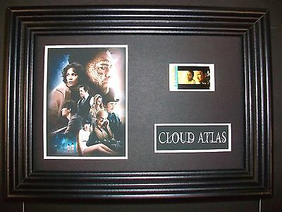 CLOUD ATLAS Framed Movie Film Cell Memorabilia Compliments poster dvd book