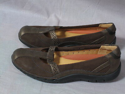 Size Women's Un Leather Soft Structured Shoes Brown Clarks Cushion pngBf88