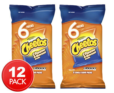 2 x Cheetos Cheese & Bacon Balls 6-Pack