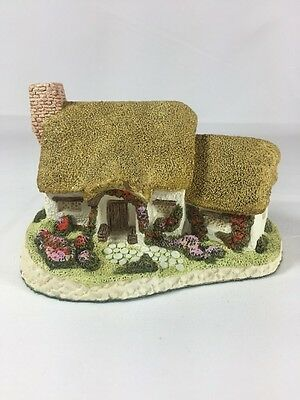 David Winter Figurine Rose Cottage Hand Painted 1980