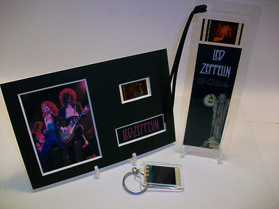 Led Zeppelin Rare 3 Piece Movie Film Cell Memorabilia Collection Gift Set Lot