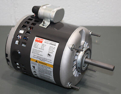 Dayton Direct Drive Fan Blower Motor 4YU23 , 1/6 HP, 1140 RPM, 115V, PSC, 48Y