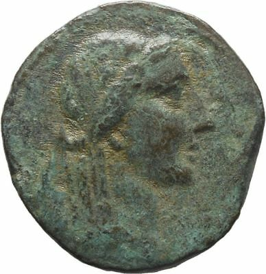Ancient Greece 164-27 BC CILICIA ADANA Apollo ZEUS NIKE THRONE