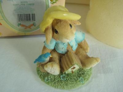 1995~Enesco~My Blushing Bunnies~Bless This Home~#157775