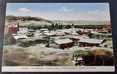 JERICHO General View Unused Early Postcard