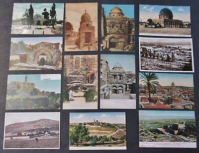 JERUSALEM 13 PCs Many Unused Overall Very Good Condition Nice Selection