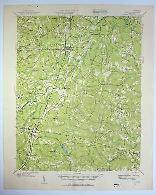 1951 FOUNTAIN COLORADO USGS Army Corp of Engineers Topo Map ... on
