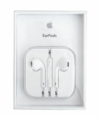 New Authentic OEM Apple Earpods W/ Remote & Mic For iPhone 6S 6 Plus 5SE 5C 5