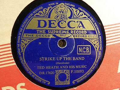 78er Swing - Ted Heath Orch.: Strike up the Band / Hot Toddy