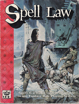 Rolemaster - Spell Law