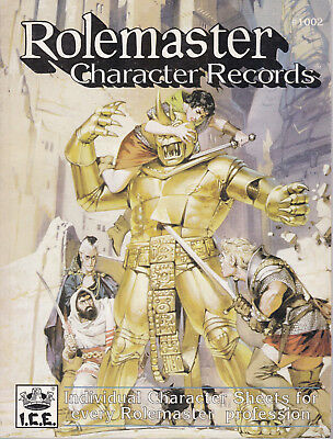 Rolemaster - Character Records