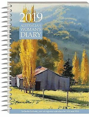 2019 Australian Woman's Diary Week to View WTV by Hinkler Books